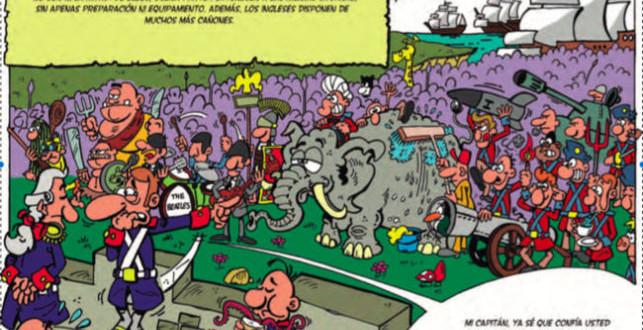 Comic sobre la toma de La Habana